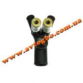 Дозатор газу з двома рег.вінтамі, пластиковий, посилений ОML